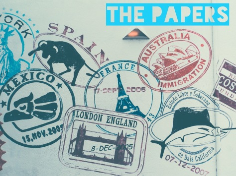 paper documents passport