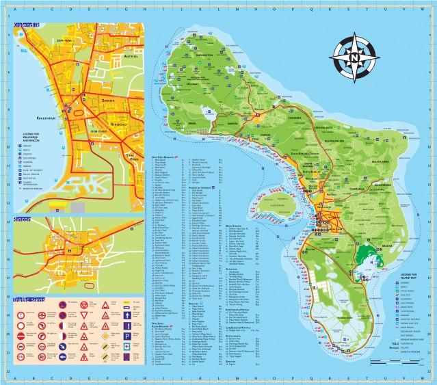 BonaireIslandMap