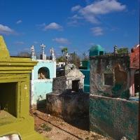 A random cemetery in Mexico