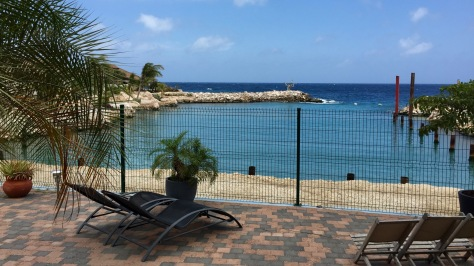 curacao atlantis diving and apartments room view