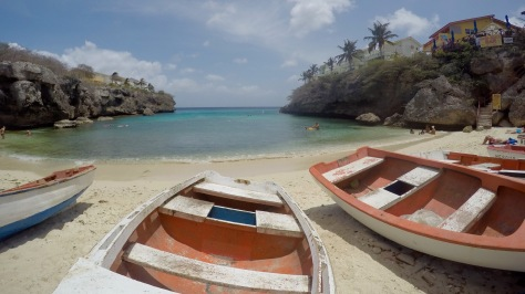 curacao playa lagun fishing boats