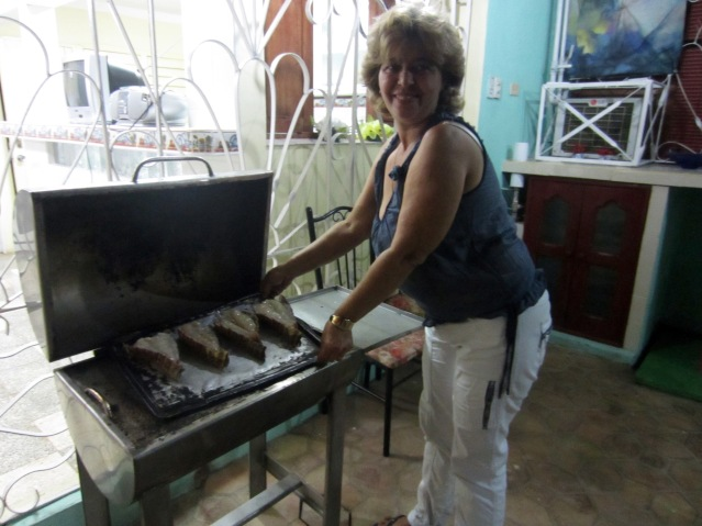 grilled lobster in cuba trinidad carribean food