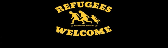 Refugees are welcome in Hamburg!
