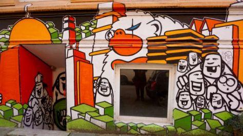 hamburg st. pauli karoviertel street art