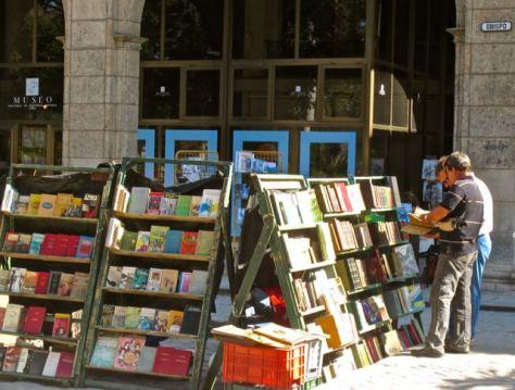 havana vieja plaza de armas secondhand book market cuba