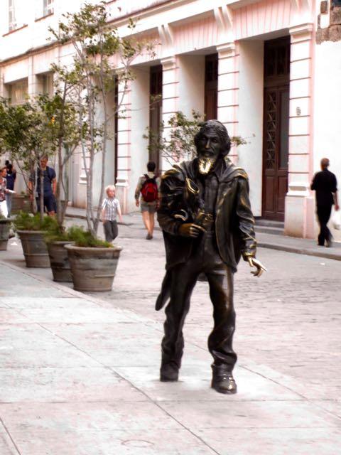 havana vieja Plaza de San Francisco de Asís el caballero cuba