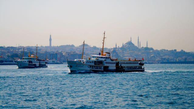 istanbul bosphorus golder horn ferry vapur
