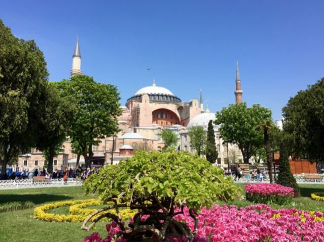istanbul in spring best time to visit tulips hagia sophia