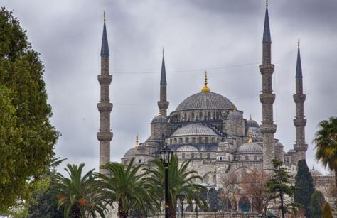 Istanbul Sultan Ahmed Mosque - Blue Mosque