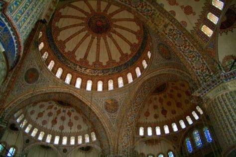 istanbul sultanahmet mosque blue mosque