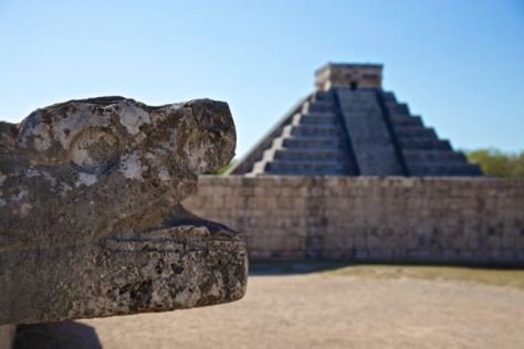 Mexico Chichen Itza Maya City Archeological Site