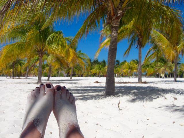 Playa Sirena in Cuba