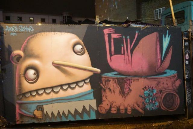 street art in london ador and semor old street