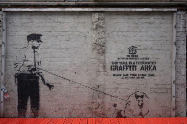 street art in london banksy graffiti area rivington street cargo 2