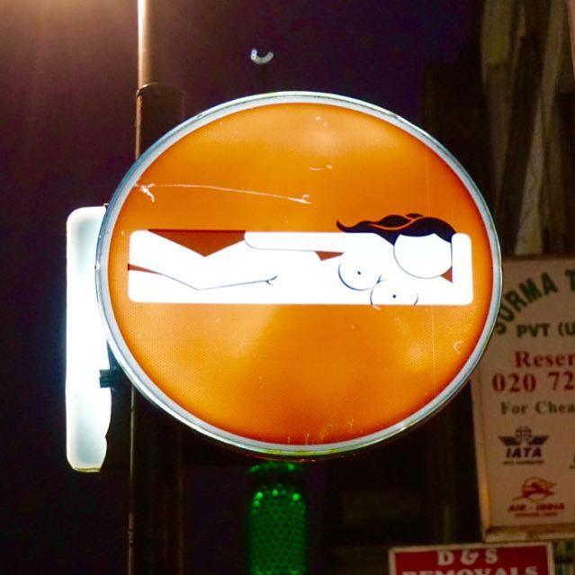 street art in london clet abraham brick lane 2