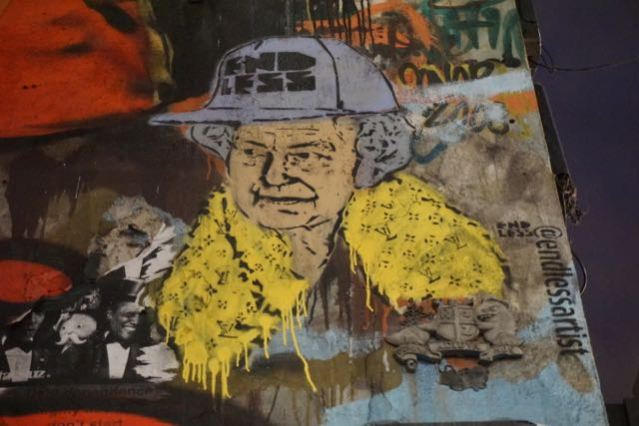 street art in london endless bricklane