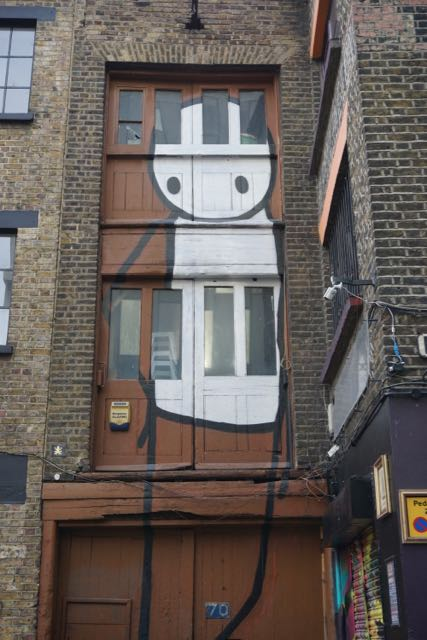 street art in london stik rivington street