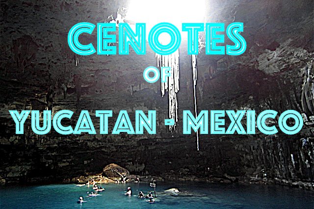 cenotes of yucatan mexico