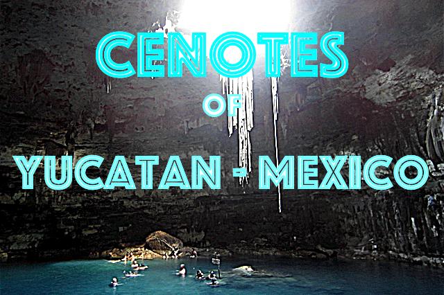 cenotes of yucatan mexico