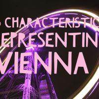 5 Characteristics representing Vienna