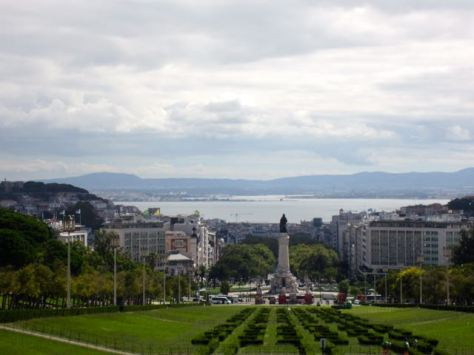 lisbon viewpoint Parque Eduardo VII