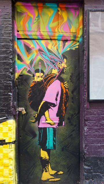street art in london stinkfish rivington street