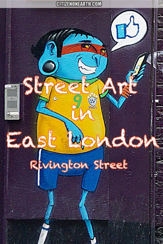 street art in rivington street east london