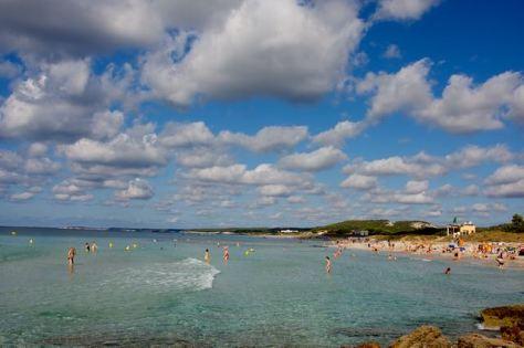 Things to do in Menorca Balearic Islands of Spain Beatiful Beach Son Bou