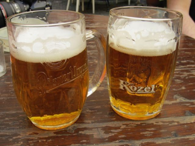 things to do in prague drink beer pilsner style