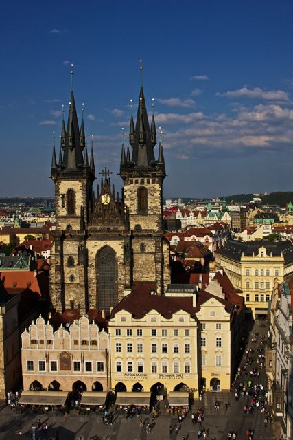 things to do in prague tyn church
