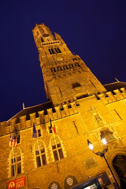 top things o do in Bruges Belfort tower
