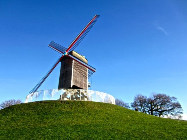 top things to do in bruges windmills