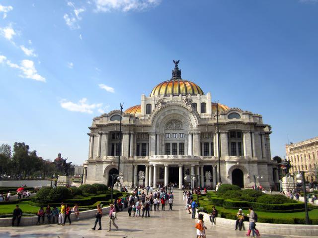things to do in mexico city palacio de bellas artes