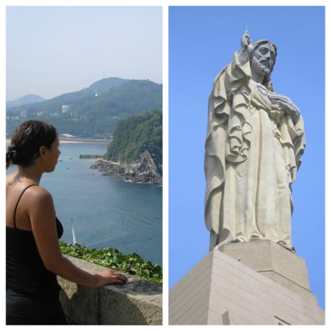 things to do in san sebastian monte urgull mota castle jesus statue