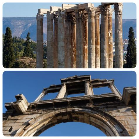 top things to do in athens temple of olympian zeus arch of Hadrian