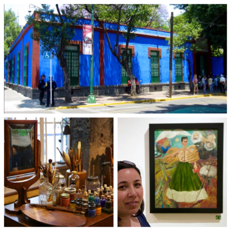 top things to do in Mexico city frida kahlo musuem