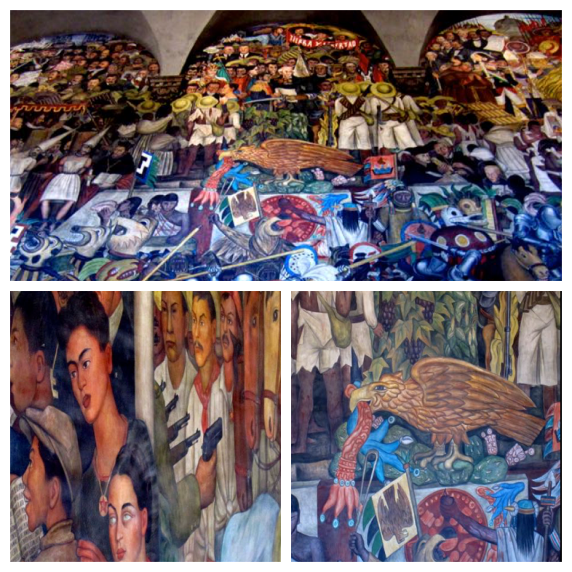 top things to do in mexico city national palace murals of Diego Rivera