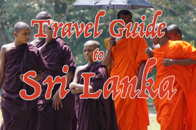 travel guide to sri lanka