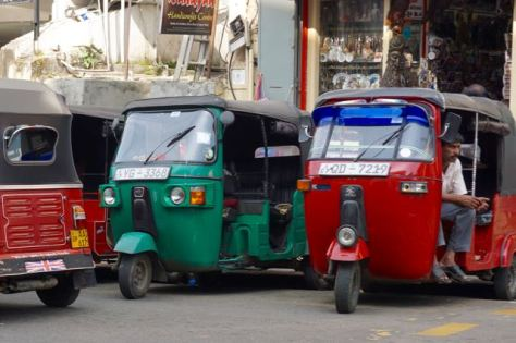 tuk tuk auto rickshaw in sri lanka