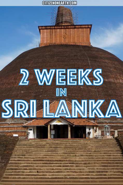 2 weeks in Sri Lanka