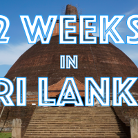 2 weeks in Sri Lanka - Travel itinerary