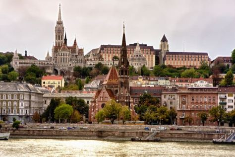 things to do in Budapest - Buda Castle