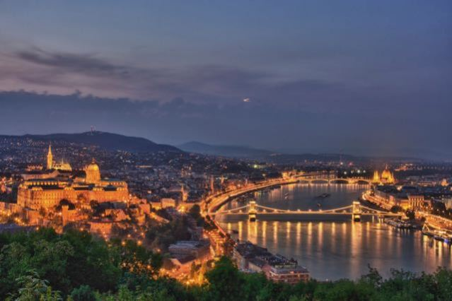 things to do in budapest - gellert hill
