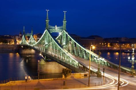 things to do in budapest - liberty bridge