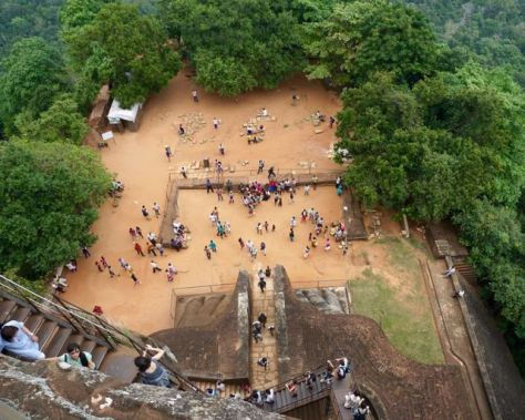 Visit Sigiriya Rock in Sri Lanka - How high is it