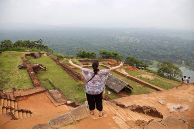 Visit Sigiriya Rock in Sri Lanka - The Rock Fortress