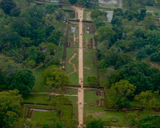 Visit Sigiriya Rock in Sri Lanka - The Royal Gardens