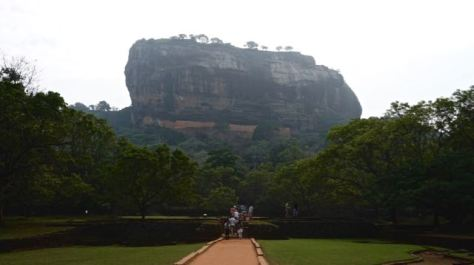 Visit Sigiriya Rock in Sri Lanka