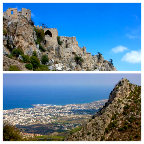 Travel guide to Northern Cyprus - Kyrenia - Girne - St. Hilarion Castle