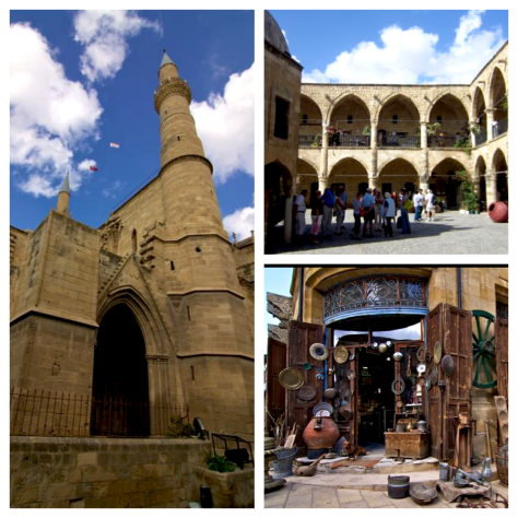 Travel guide to Northern Cyprus - Nicosia - Selimiye Mosque - St. Sophia Cathedral - Great Inn - Büyük Han